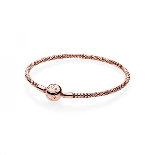 Pandora Moments Armband Rosé 586543-17
