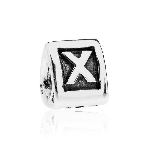 Pandora letterbedel 790323X zilver