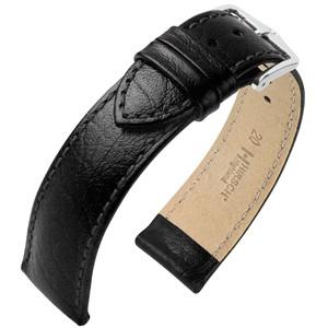 Hirsch horlogeband - Highland Zwart L - 28mm