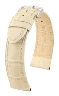 Hirsch - Horlogeband Duke Beige 20mm