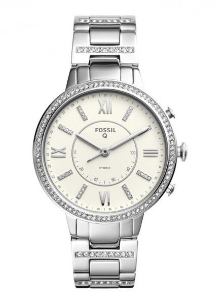 Fossil Virginia FTW5009 Hybrid Smartwatch ladies staal