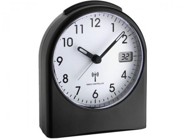 TFA Dostmann Radio Controlled Wekker 98.1040.01 Analoog