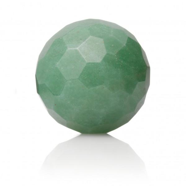 Sparkling Jewels Hanger Gemstone FCTGEM29-S Green Aventurine 14mm Facet