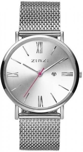 Zinzi Zilver Horloge 34 mm ZIW502M