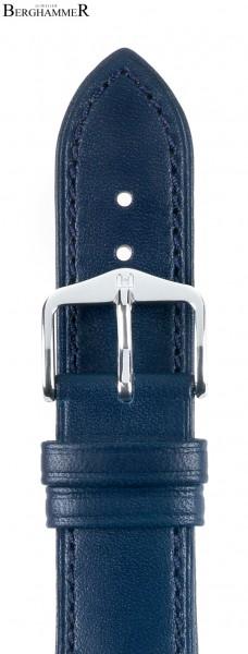 Hirsch Kent Artisan 14mm Horlogeband Blauw