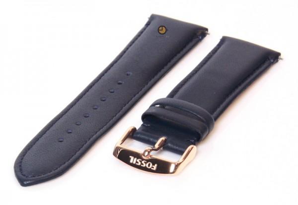 Fossil Blauw 22mm S221348 horlogeband