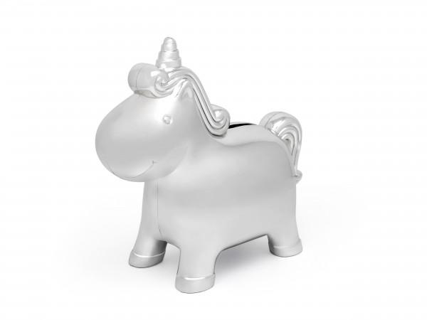 Zilverstad Spaarpot Unicorn