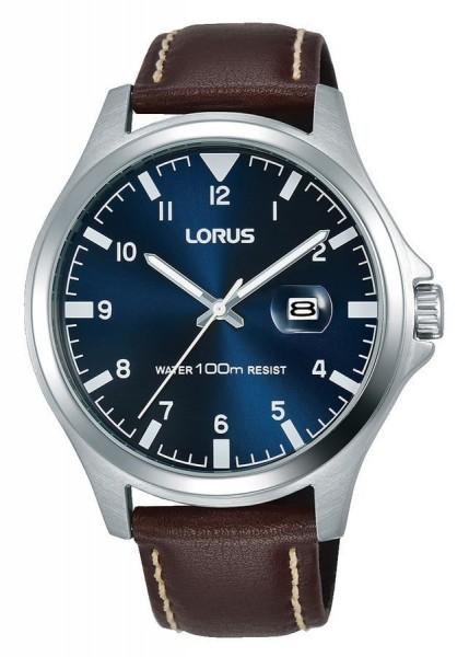 Lorus Herenhorloge Quartz Analoog RH963KX8 Zilverkleurig Blauw