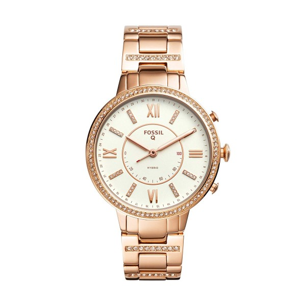 Fossil Q Virginia Hybrid Smartwatch Dames FTW5010
