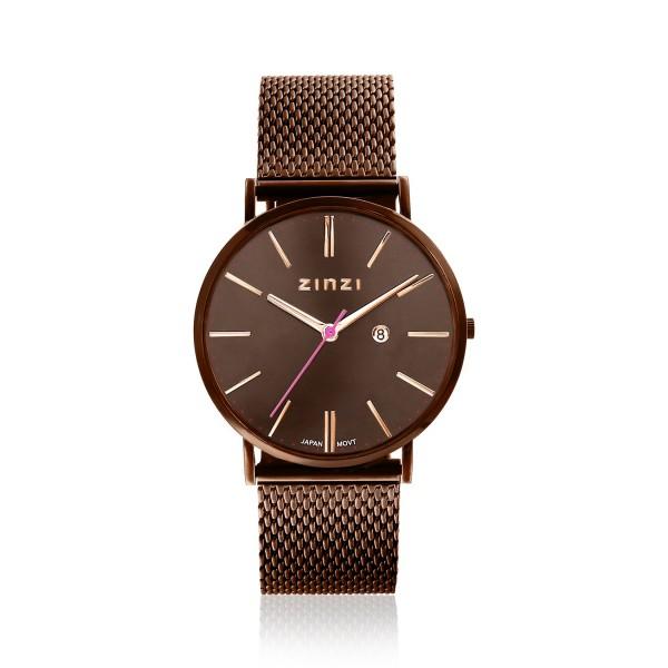 Zinzi Bruin Horloge 38 mm ZIW415M