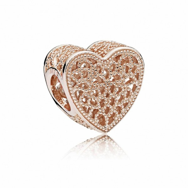 Pandora Filled with Romance Bedel Dames 781811 Roseverguld Zilver Zirkonia