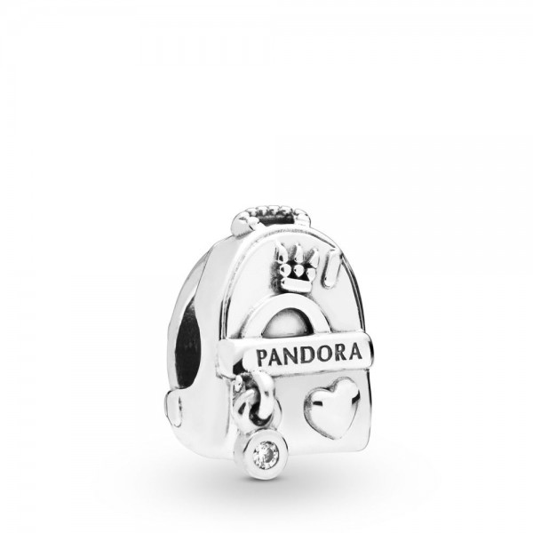 Pandora Moments Adventure Bag Bedel Dames 797859CZ Zilver Zirkonia