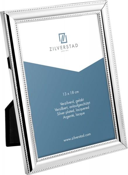 Zilverstad Fotolijst Parelrand 13x18cm - Verzilverd