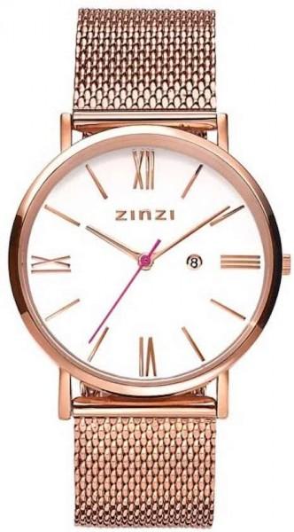 Zinzi Rosé Wit Horloge 34 mm ZIW508M