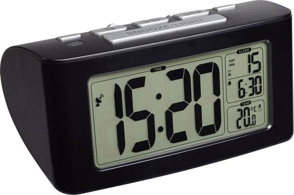 TFA Dostmann Radio Controlled Wekker 60.2532.01 Thermometer Digitaal