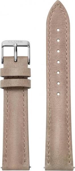 Cluse horlogebandje - CLS063 Hazelnut 18mm