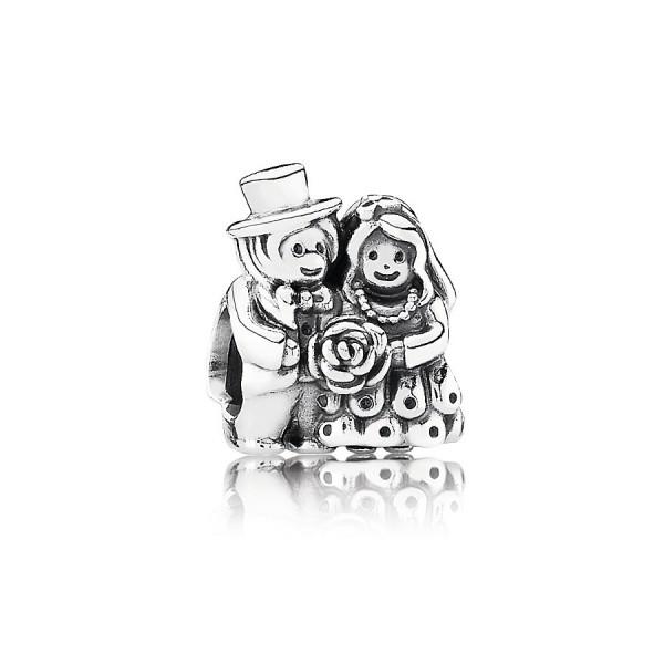 Pandora Bride & Groom Bedel Dames 791116 Zilver