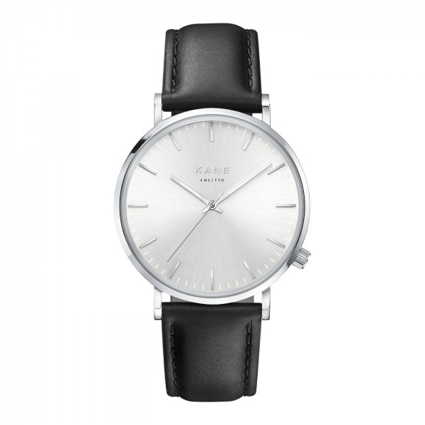 KANE Silver Steel Classic SS001 - 39mm
