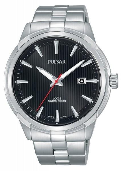 Pulsar Herenhorloge Quartz Analoog PS9581X1 Zilverkleurig Zwart