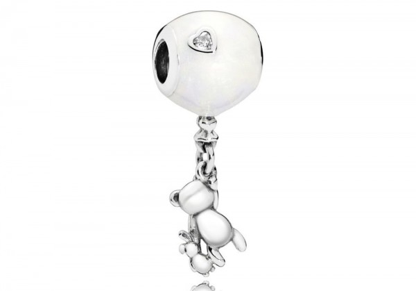 Pandora Moments Hangbedel Teddy and Balloon 797034EN23