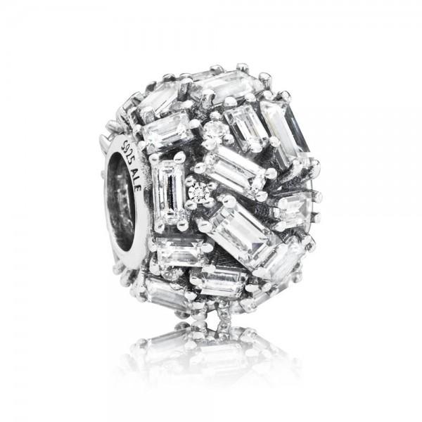 Pandora Bedel Chiseled Elegance 797746CZ Zilver Zirkonia