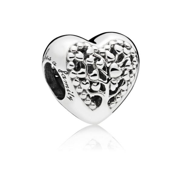 Pandora Moments Flourishing Hearts Bedel 797058 Zilver