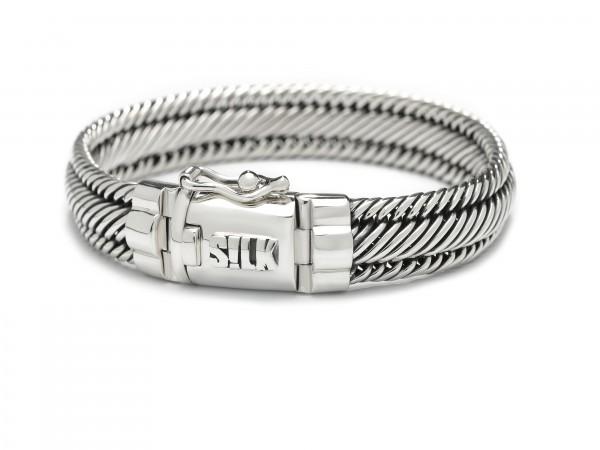 SILK Zilveren Armband Madonna - 733 21 CM