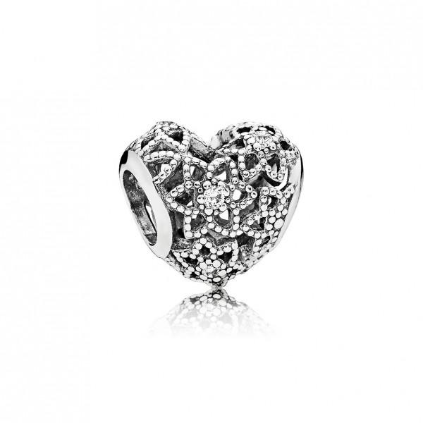 Pandora 796264CZ Blooming Heart - Open Hart