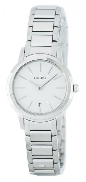 Seiko SXB421P1 dameshorloge edelstaal