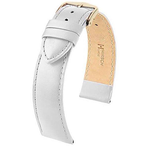 Hirsch horlogeband - CORSE - 22mm WIT - M