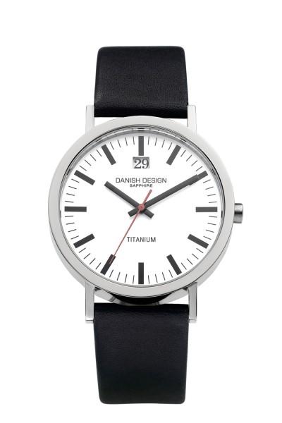 Danish Design IQ12Q877 horloge titanium 40mm