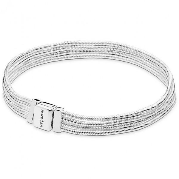Pandora REFLEXIONS Multi Snake Chain Bracelet 597943-18