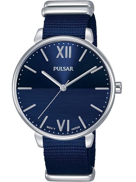 Pulsar Dameshorloge Quartz Analoog PH8451X1 Zilverkleurig Blauw