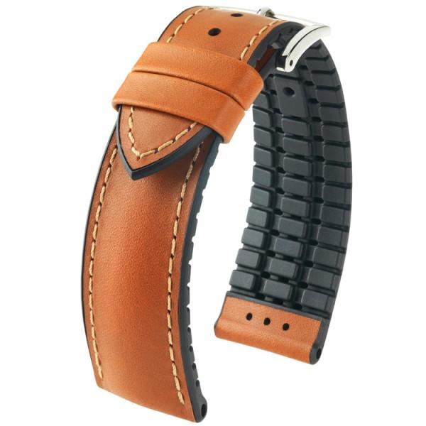Hirsch horlogeband James L 20mm Bruin