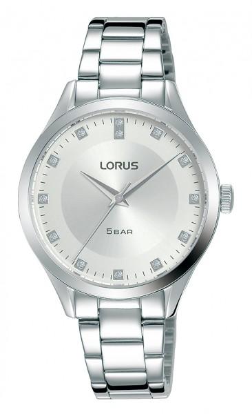 Lorus dameshorloge RG201RX9 zilverkleurig edelstaal
