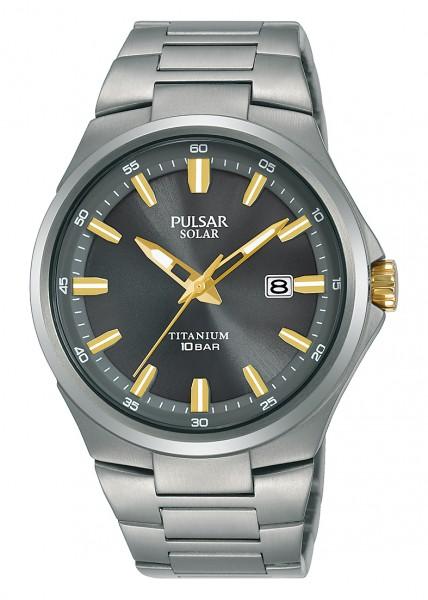 Pulsar herenhorloge PX3215X1 Solar Titanium