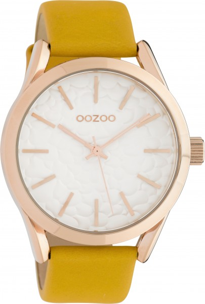 OOZOO Horloge Okergeel - C10463