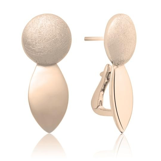 Sparkling Jewels Oorbellen EAR14 Rose Goldplate