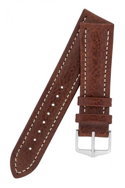 Hirsch horlogeband - Buffalo Bruin - 18mm