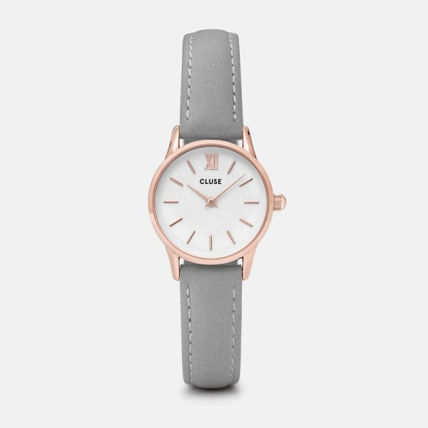 CLUSE LA VEDETTE ROSE GOLD/GREY 24MM HORLOGE CL50009