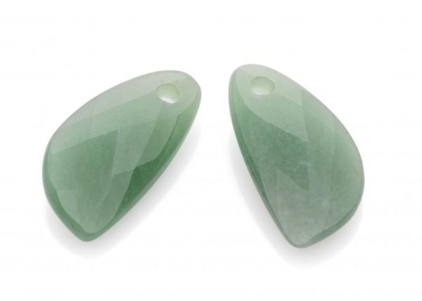 Sparkling Jewels Oorsieraad Gemstone EAGEM29-AS Green Aventurine Facet