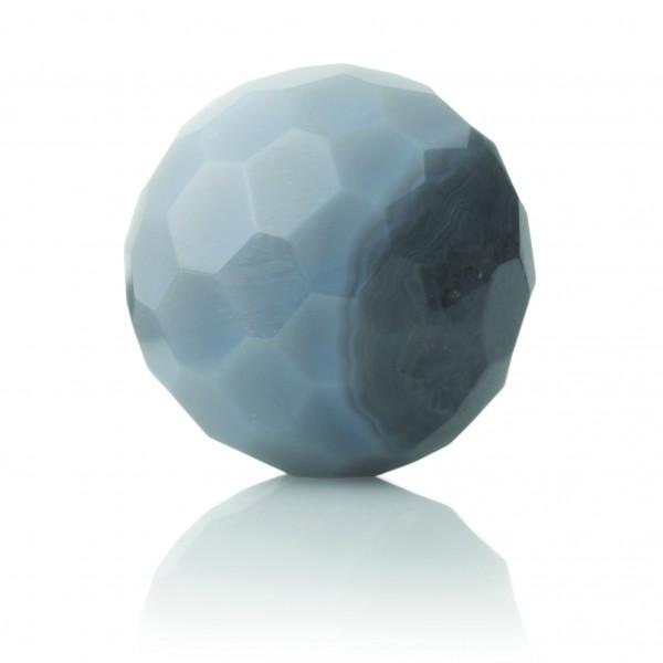 Sparkling Jewels Hanger Gemstone FCTGEM31 Grey Agate 20mm Facet