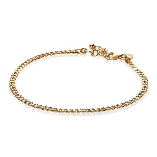 Zinzi Armband Dames Gourmetschakel ZIA1418R Roséverguld Zilver