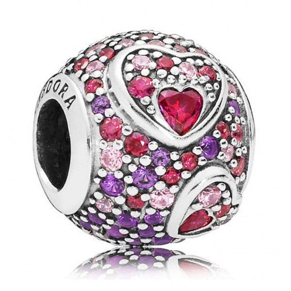 Pandora Bedel Hearts of Love 797826CZRMX