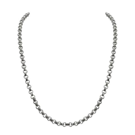 Sparkling Jewels Ketting SNSM060 Silver 60 cm
