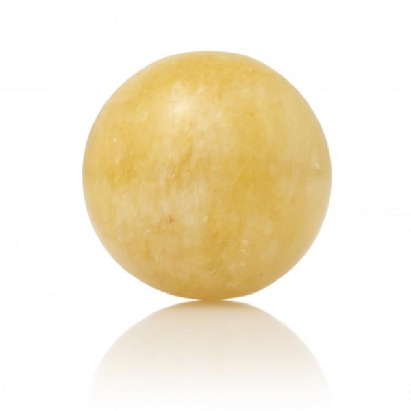 Sparkling Jewels Gemstone Hanger GEM30-S Yellow Jade 14mm