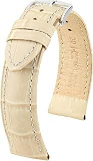 Hirsch - Horlogeband Duke Beige 22mm