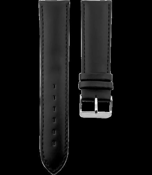 OOZOO losse horlogeband Zwart 20mm