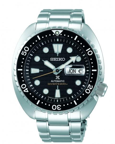 Seiko herenhorloge SRPE03K1 Saffierglas Automatic Prospex Turtle
