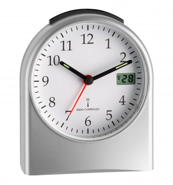 TFA Dostmann Radio Controlled Wekker 98.1040.54 Analoog